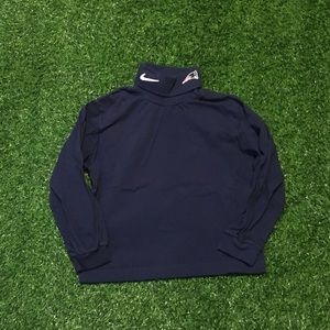 Toddlers Team Nike NFL Patriots Turtleneck Size 5